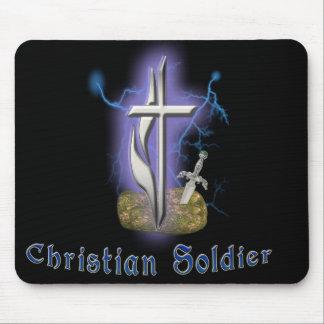 espada cristiana del cojín de ratón del alcohol alfombrilla de raton