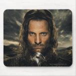 Espada de Aragorn abajo Alfombrilla De Ratón