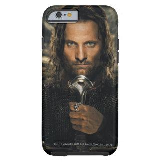 Espada de Aragorn abajo Funda De iPhone 6 Tough