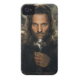 Espada de Aragorn abajo iPhone 4 Fundas