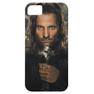 Espada de Aragorn abajo iPhone 5 Carcasas