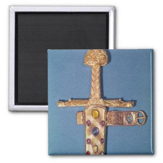 Espada de la coronación de los reyes de Francia Imán Cuadrado