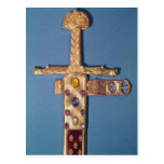 Espada de la coronación de los reyes de Francia Postal