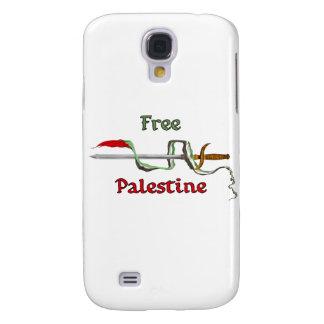 Espada de Palestina rodeada por la bandera palesti Funda Para Samsung Galaxy S4