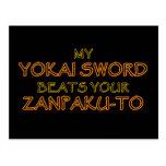 Espada de Yokai contra Zanpak-a las postales