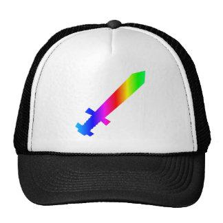 Espada del arco iris gorra