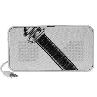 Espada del estilo del vintage iPod altavoz