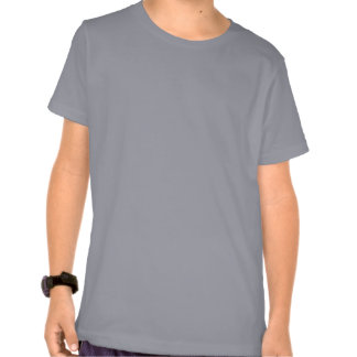 Espada derecha del dibujo del gorrión del enchufe camisetas