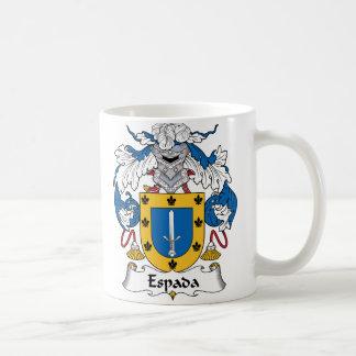 Espada Family Crest Coffee Mug