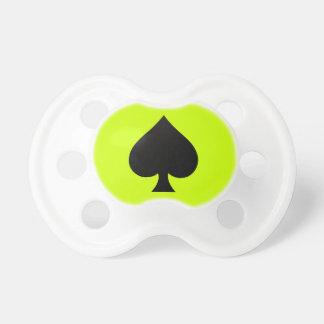 Espada negra - juego de las tarjetas, póker, lanza chupetes de bebe