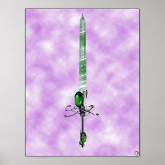 Espada santa -- Poster