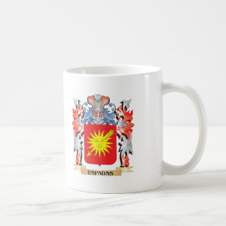 Espadas Coat of Arms - Family Crest Coffee Mug
