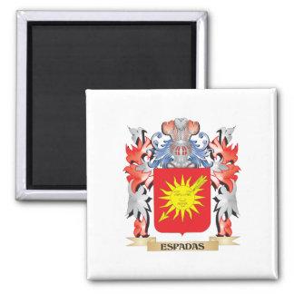 Espadas Coat of Arms - Family Crest Magnet