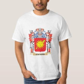 Espadas Coat of Arms - Family Crest T-Shirt