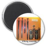 Espadas de Viking Iman Para Frigorífico