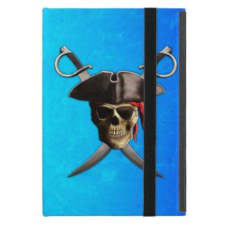 Espadas del cráneo del pirata iPad mini cárcasas