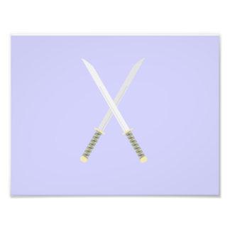 espadas del samurai fotografías