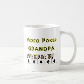Espadas video del abuelo del póker taza clásica