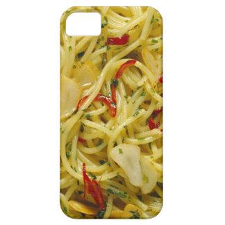 Espaguetis Aglio; Ensaladilla y Peperoncino iPhone 5 Carcasas