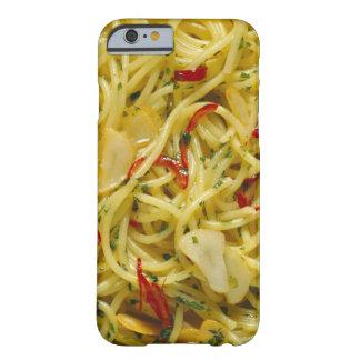 Espaguetis Aglio; Ensaladilla y Peperoncino Funda De iPhone 6 Barely There