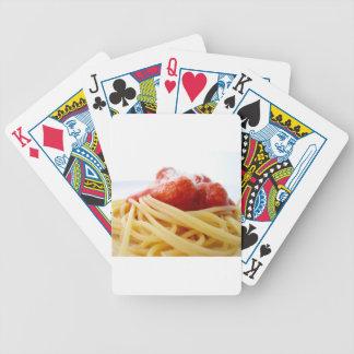 Espaguetis Barajas De Cartas