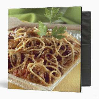 """Espaguetis boloñés para el uso en los E.E.U.U. sol Carpeta 1 1/2"""""""