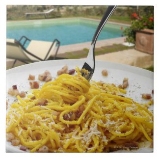 Espaguetis Carbonara Teja