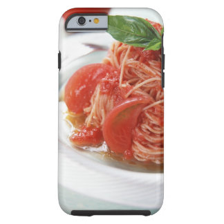 Espaguetis del tomate funda para iPhone 6 tough