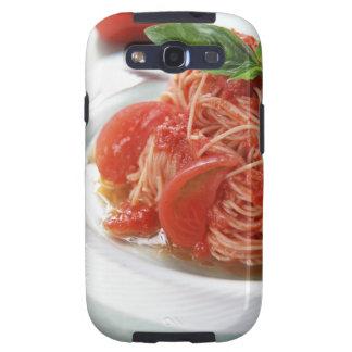 Espaguetis del tomate galaxy s3 fundas