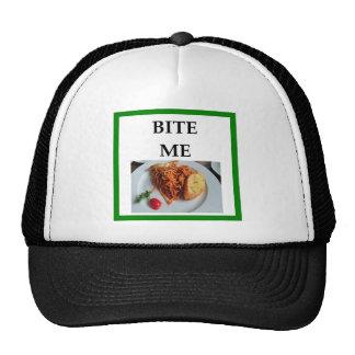 espaguetis gorra