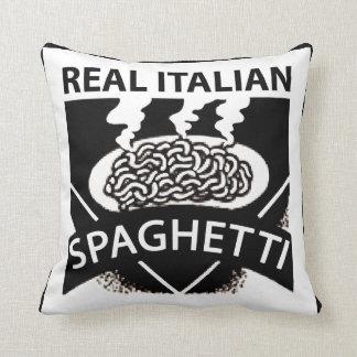 Espaguetis italianos reales cojines