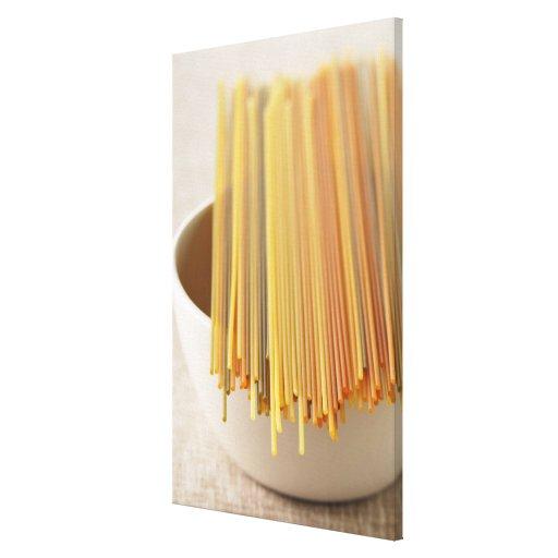 Espaguetis Impresión En Lienzo Estirada