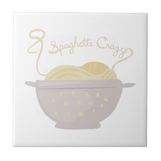 Espaguetis locos azulejos ceramicos