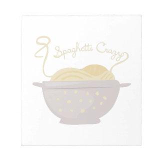 Espaguetis locos blocs