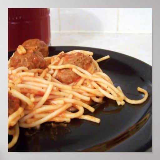 espaguetis impresiones