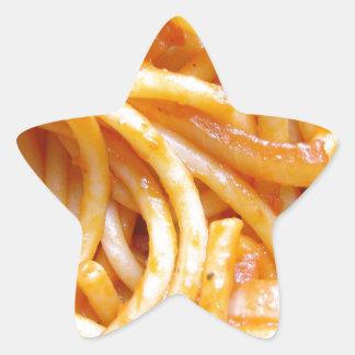 Espaguetis Pegatina En Forma De Estrella