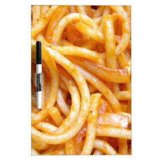 Espaguetis Tablero Blanco