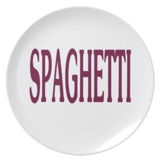 Espaguetis Platos De Comidas