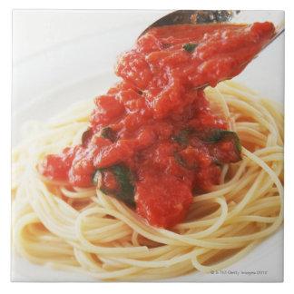 Espaguetis Pomodoro Tejas Cerámicas