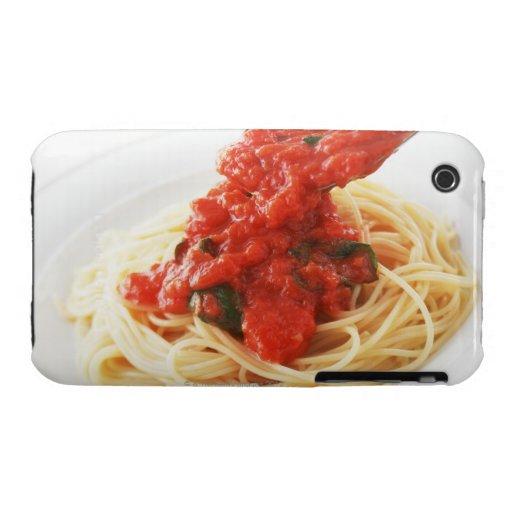 Espaguetis Pomodoro iPhone 3 Case-Mate Carcasas
