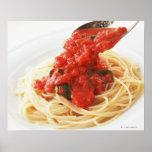 Espaguetis Pomodoro Póster