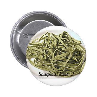 Espaguetis verdes pin redondo de 2 pulgadas