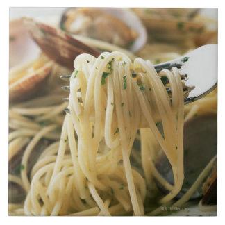Espaguetis Vongole Bianco Tejas Ceramicas