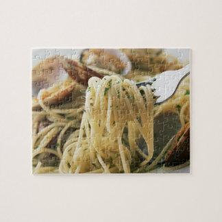Espaguetis Vongole Bianco Puzzle Con Fotos