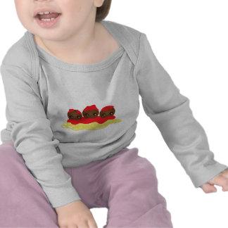 Espaguetis y albóndigas camisetas