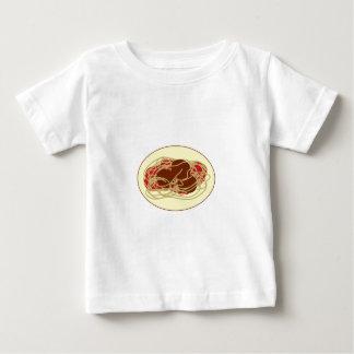 Espaguetis y albóndigas playeras