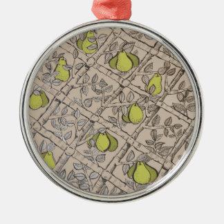 Espallier Pear Ornament