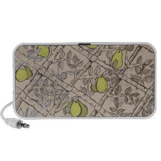 Espallier Pear Portable Speaker