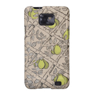 Espallier Pear Samsung Galaxy S Android Case Samsung Galaxy SII Covers
