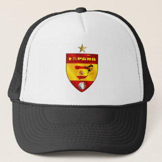 Espana 1 star champions gift trucker hat